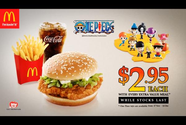 NOC – Macdonald X OnePiece