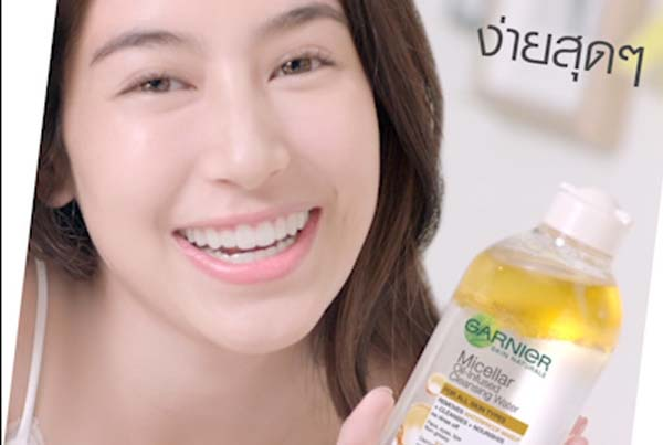 Garnier L'Oreal Micellar Oil TH PockeTVC